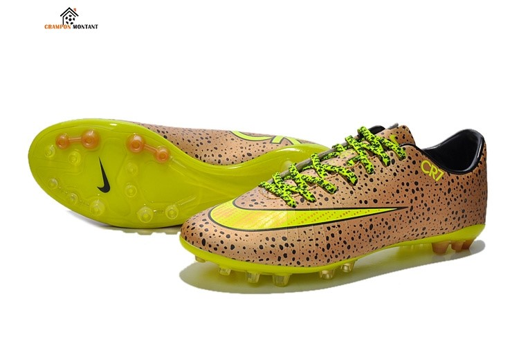 Nike Mercurial Vapor CR7 AG Or Jaune