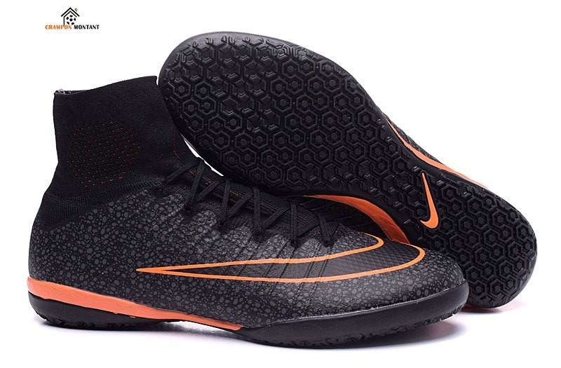 Nike MercurialX Proximo IC Noir Orange